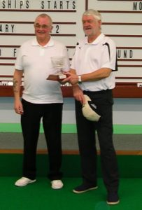 Ken Williams and Stuart Garrett winners