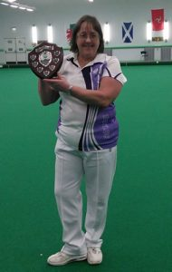 Ladies Singles Champion:Joyce Ogden