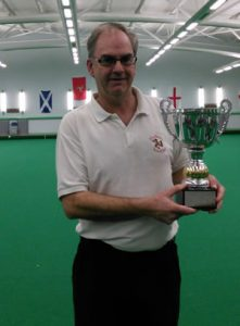 Mens singles Champion: Mike Cain