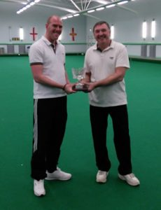 Pairs Champions: Martin Paterson & Clive McGreal