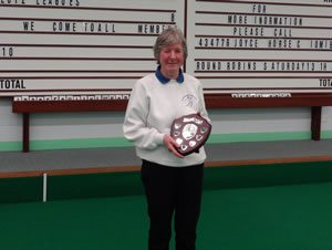 Ladies Singles Champion: Muriel Cain