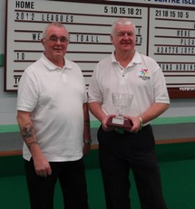 Pairs Champions: Ken Williams, Stuart Garrett