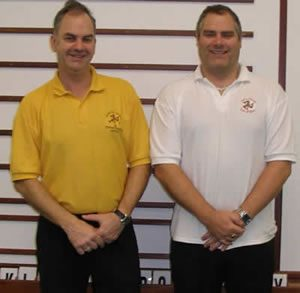 Pairs Champions: Mike Caine and Phil Kelly
