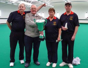2017 indoor bowls Triples champions