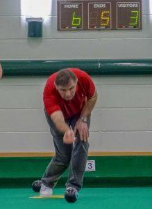 Shaun seal bowling at the NSC