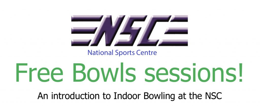 Notice of the NSC come and try sessions for indoor bowling