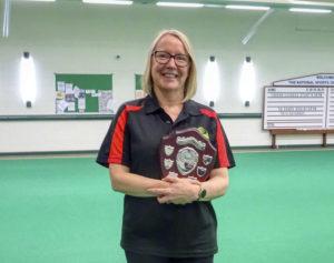 Paula Garrett IOM ladies singles champion 2020